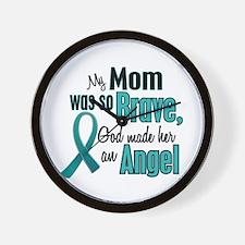 Angel 1 TEAL (Mom) Wall Clock