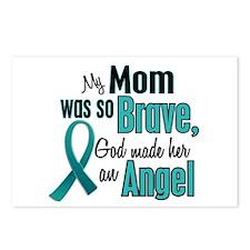 Angel 1 TEAL (Mom) Postcards (Package of 8)