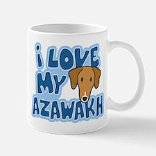 I Love my Azawakh Mug (Cartoon)