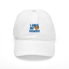 I Love my Azawakh Hat (Cartoon)