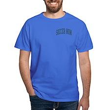 Soccer Mom Sports Nickname Collegiate Style T-Shirt