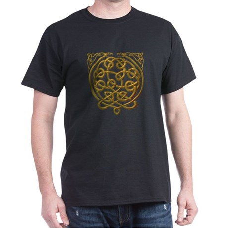 2 dragons - gold Dark T-Shirt