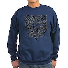 2 Dragons - Black Chrome Sweatshirt