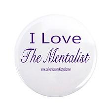 "LOVE THE MENTALIST 3.5"" Button"