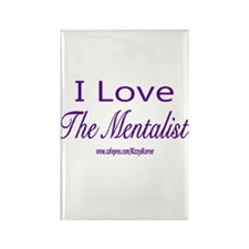 LOVE THE MENTALIST Rectangle Magnet