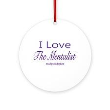 LOVE THE MENTALIST Ornament (Round)