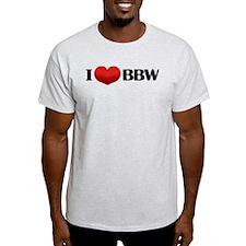 I HEART BBW T-Shirt