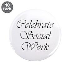 "Celebrate SW (black) 3.5"" Button (10 pack)"