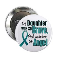 "Angel 1 TEAL (Daughter) 2.25"" Button"