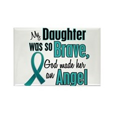 Angel 1 TEAL (Daughter) Rectangle Magnet