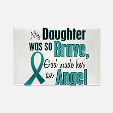 Angel 1 TEAL (Daughter) Rectangle Magnet