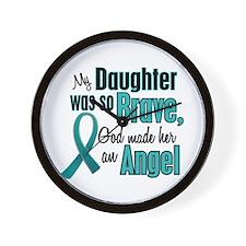 Angel 1 TEAL (Daughter) Wall Clock