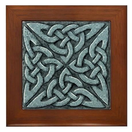 4 Square - stone Framed Tile