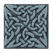 4 Square - stone Tile Coaster