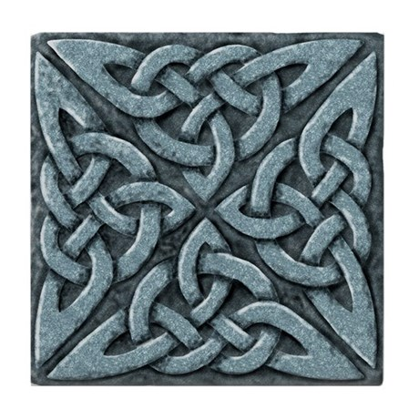 4 Square - stone Tile Coaster