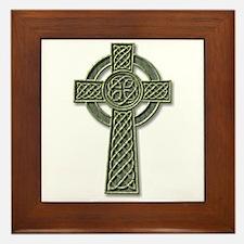 Cross 1 - stone Framed Tile