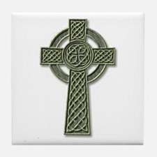 Cross 1 - stone Tile Coaster