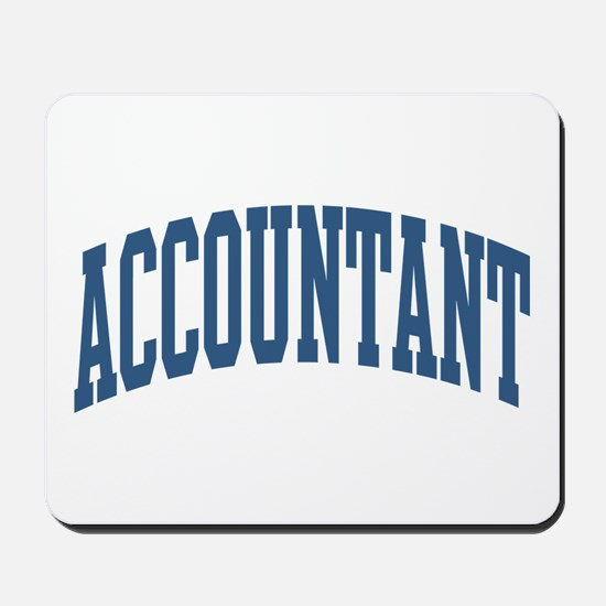 Accountant Occupation Collegiate Style Mousepad