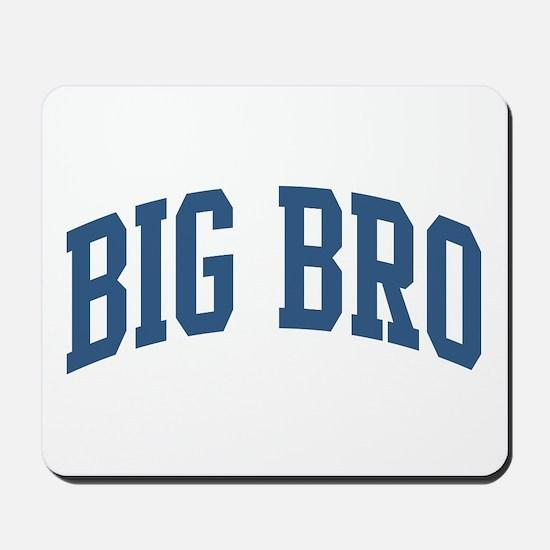Big Bro Nickname Collegiate Style Mousepad