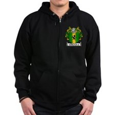O'Hara Coat of Arms Zip Hoodie