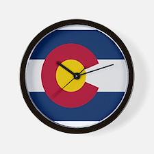 Colorado Stripe Custom Design Wall Clock