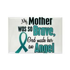 Angel 1 TEAL (Mother) Rectangle Magnet
