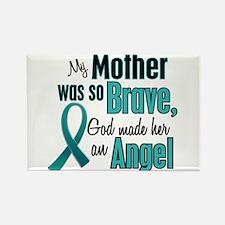 Angel 1 TEAL (Mother) Rectangle Magnet