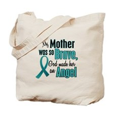 Angel 1 TEAL (Mother) Tote Bag