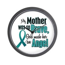 Angel 1 TEAL (Mother) Wall Clock