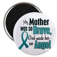 Angel 1 TEAL (Mother) Magnet
