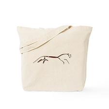 Uffington Horse - rust Tote Bag