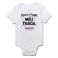 Have Class Will Teach Infant Bodysuit