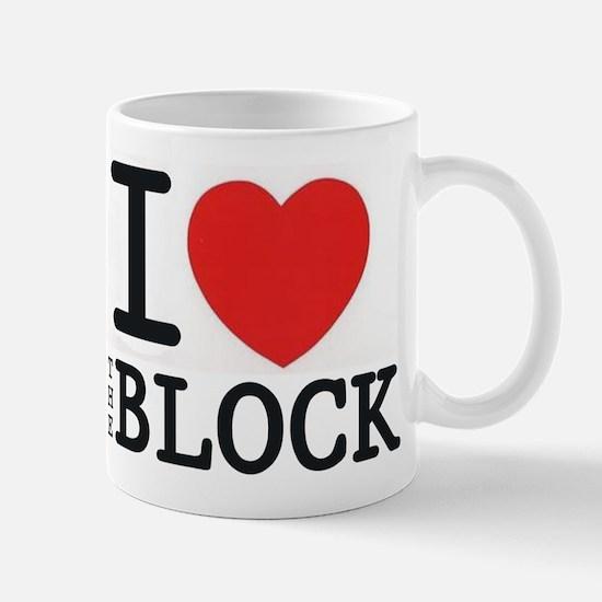 I <3 The Block Mug