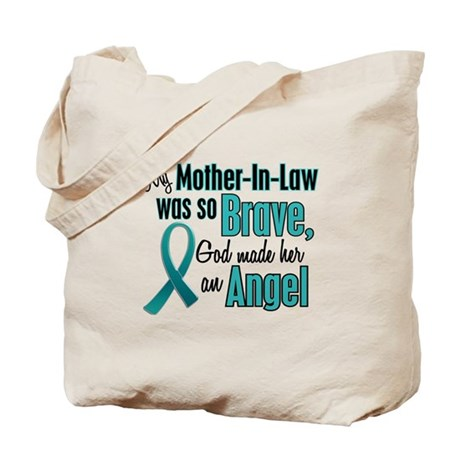 Angel 1 TEAL (Mother-In-Law) Tote Bag