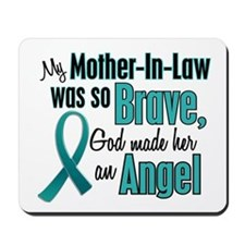 Angel 1 TEAL (Mother-In-Law) Mousepad
