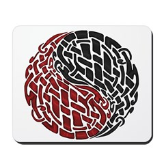 Celtic Knotwork Yin Yang Mousepad
