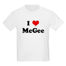 I Love McGee T-Shirt