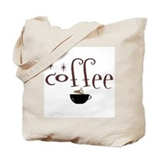 Coffee Lovers Twinkle Tote Bag