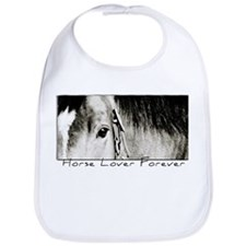 Horse Eye Art Bib