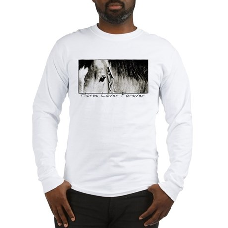 Horse Eye Art Long Sleeve T-Shirt