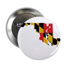"Maryland Stripe Custom Design 2.25"" Button"