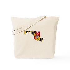 Maryland Stripe Custom Design Tote Bag