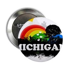 """Sweet Fruity Michigan 2.25"""" Button"""