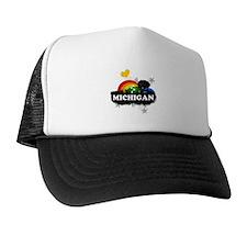 Sweet Fruity Michigan Trucker Hat