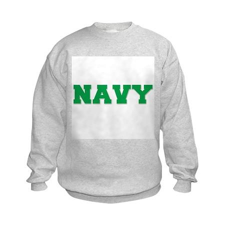 Navy Kids Sweatshirt