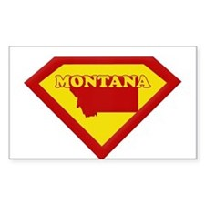 Super Star Montana Rectangle Decal