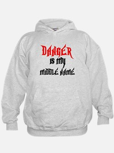 Danger Is My Middle Name Hoodie