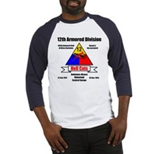 12th Armored Division 495th Baseball Jersey