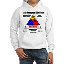 12th Armored Division 495th Hoodie