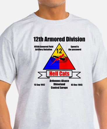 12th Armored Division 495th T-Shirt